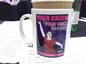 UCU mug your union your voice your vote